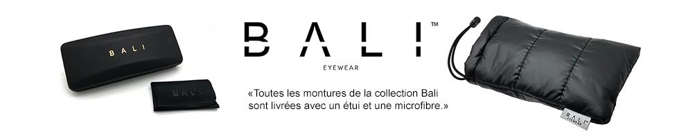 Collection monture BALI eyewear